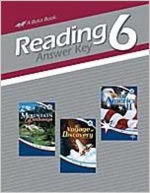 Reading 6 (Sixth grade Answer Key)